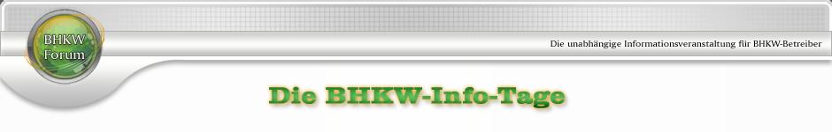 10. BHKW-Info-Tage 2014 | BHKW-Infothek