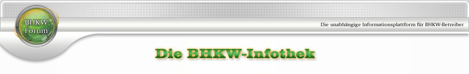 Cleanergy | BHKW-Infothek