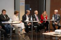 Podiumsdiskussion auf dem 12. Duisburger KWK-Symposium