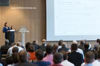 Impressionen des Vortragsprogramms auf der 4. Stuttgarter KWK-Fachtagung (Bild: BHKW-Infothek)