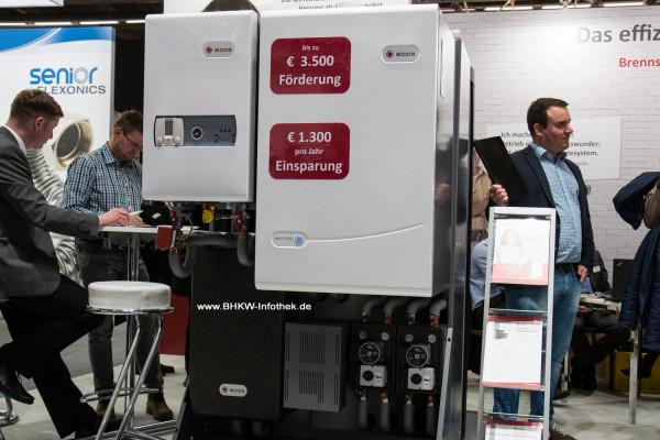 ISH 2015: Kleine Therme, große Brennstoffzelle in einer kompakten Einheit mit Puffer