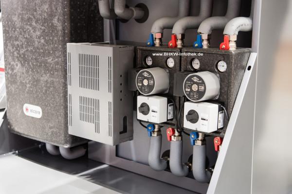 """ISH 2015: Elcore Systempaket """"Max"""" mit Frischwasserstation und Pumpengruppen"""