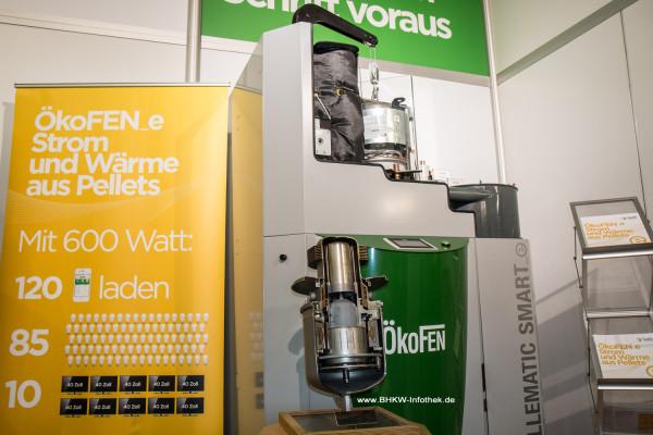 ISH 2015: ÖkoFEN zeigt das jetzt in Österreich lieferbare Holzpellet-BHKW