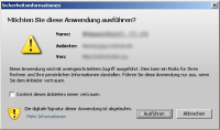 ecoPOWER 1.0 abgelaufenes Zertifikat