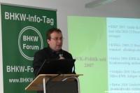 7. BHKW-Info-Tag Vortrag von Oliver Krischer (Bild: Bruno Beyer)