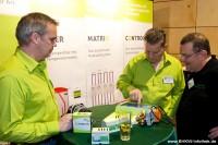 Die Ausstellung auf den 8. BHKW-Info-Tagen 2012 in Fürth