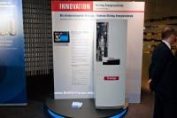 Buderus Logavolt Prototyp auf der ISH 2011 (Bild: BHKW-Infothek)