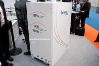 Das RBZ inhouse5000 auf der Hannover Messe 2012 (Foto: BHKW-Infothek)