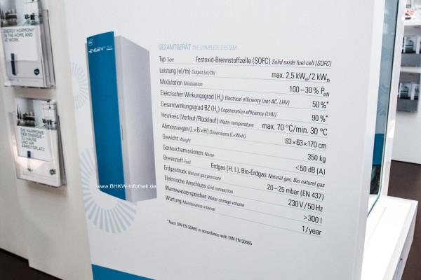 Technische Daten des SOLIDpower EnGen-2500