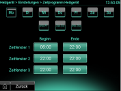 ecoPower 1.0 Software Version 2.07: Drei Funktionszeiten
