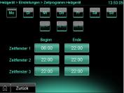 ecoPower 1.0 Software Version 2.07: Drei Funktionszeiten