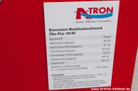 A-Tron BHKW auf der Hannover Messe 2013