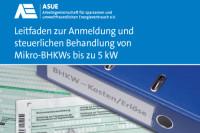 Vorschaubild: ASUE Leitfaden Mikro-BHKW 2014