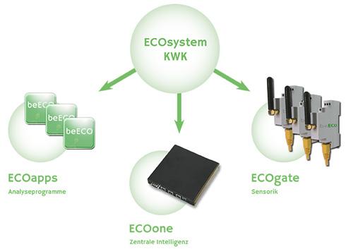 Das ECOsystem KWK von beECO (Grafik: Anbieter)