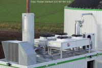 Biogasanlage mit BHKW (Foto: Florian Gerlach, CC BY-SA 3.0)