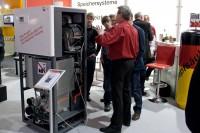 Bruns Brennstoffzellenheizgerät auf der ISH 2011 (Foto: BHKW-Infothek)