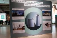 Vaillant ecoPOWER 1.0 auf der ISH 2011 (Bild: BHKW-Infothek, C. Stahl)