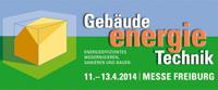 Logo der GETEC 2014 in Freiburg