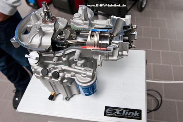 Schnittbild der neuen Motorvariante mit EXlink (Bild: BHKW-Infothek)