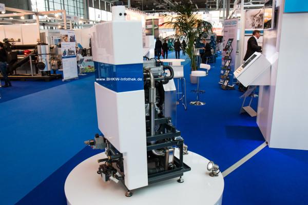 IAV Mikro-BHKW: Platzsparende Konstruktion im Format weißer Ware