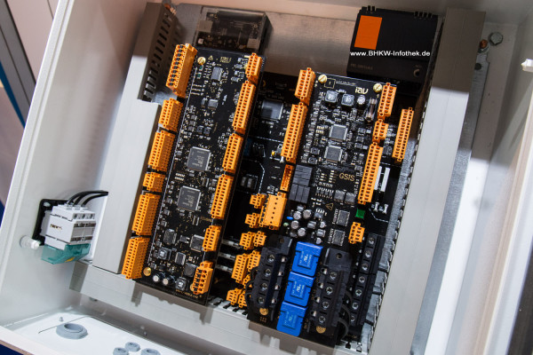 Prototyp einer integrierten BHKW-Steuerung der IAV