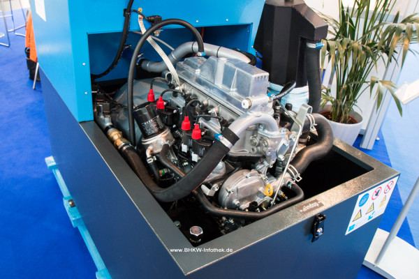 Toyota 4Y Industriemotor im Indop 20TO