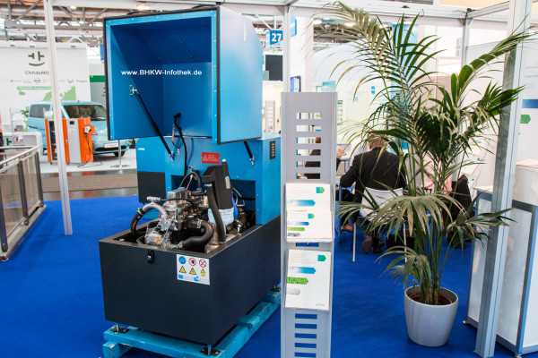 Indop TO20 BHKW auf der Hannover Messe 2015