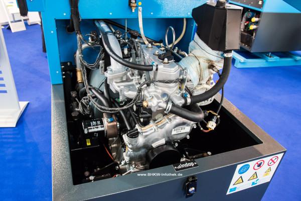 Kleiner Bruder: Indop 6TO und 9TO mit 1KS-Motor von Toyota
