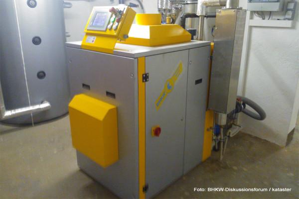 Ein BHKW von Kimmel Energietechnik im Einsatz bei einem Nutzer des BHKW-Diskussionsforums