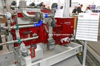 Kirsch HomeEnergy mini50 auf der Hannover Messe 2013 (Bild: BHKW-Infothek)