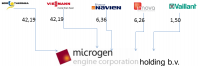 Microgen Unternehmensstruktur (Grafik: Microgen)