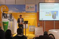 ÖkoFEN Präsentation auf der Energiesparmesse Wels (Bild: ÖkoFEN)