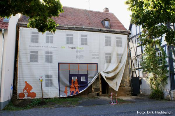Alt aber hübsch verpackt: Das 1 Euro Ruinchen vor der Renovierung