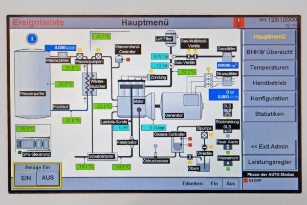 Simple Energie 12/28G Steuerung (Bild: BHKW-Infothek)